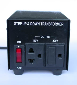 220 Volt Outlet >> Never Use a Surge Protector with a Step-Down Transformer